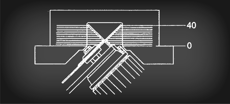 GS 225 A: Diagramma di taglio